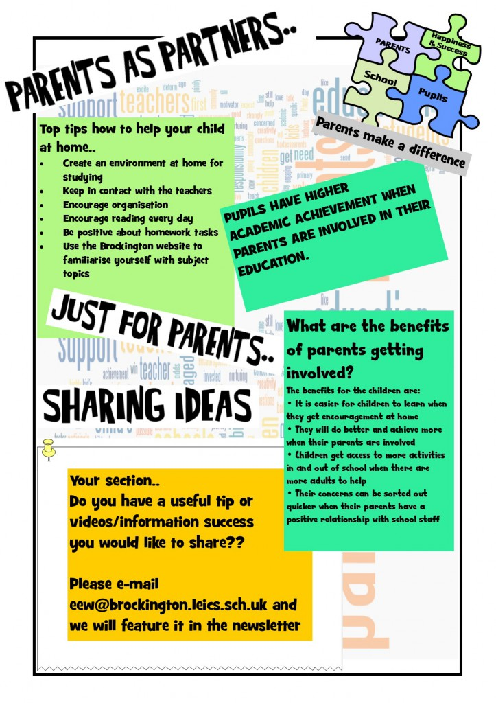 parents newsletter May 15 2