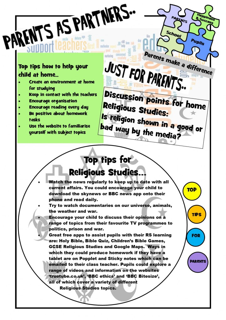 parents newsletter May 15
