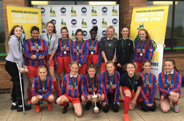Year 8/9 girls become Leicestershire and Rutland County Champions